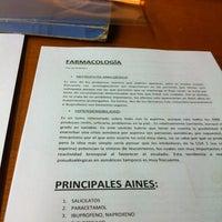 Photo taken at Biblioteca Facultad de Medicina by Pablo F. on 10/9/2012