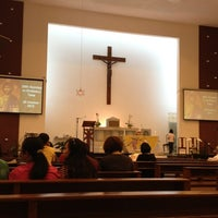 Photo taken at St. Ignatius Chapel 聖依納爵小堂 by Charlotte T. on 10/28/2012
