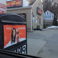 Photo taken at franklin fast food mart by John M. on 2/1/2013