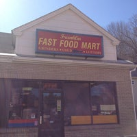Photo taken at franklin fast food mart by John M. on 3/30/2013