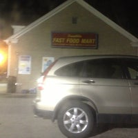 Photo taken at franklin fast food mart by John M. on 11/6/2012