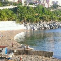 Photo taken at Kapuz Plajı by Sertaç P. on 5/29/2013