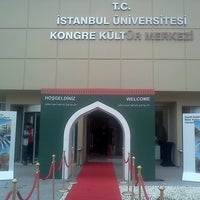 3/28/2013にB Y.がİstanbul Üniversitesi Kongre Kültür Merkeziで撮った写真