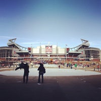 Photo taken at Sports Authority Field at Mile High by Ryan F. on 12/30/2012