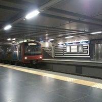 Photo taken at Metro Saldanha [AM,VM] by Samuel d. on 2/24/2013