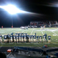 Photo taken at Chanhassen High School by Jenn M. on 10/6/2012