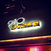 Photo taken at 210 Diner by Nathália M. on 10/1/2013