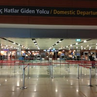 Photo taken at Domestic Departures by Mehmet Hanifi Ş. on 10/24/2012