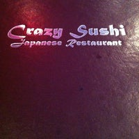 Photo taken at Crazy Sushi by Cristina L. on 10/11/2012