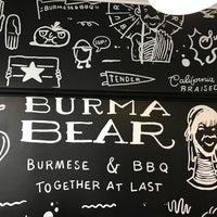 Снимок сделан в Burma Bear пользователем Eric F. 2/23/2017