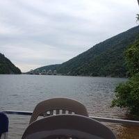 Photo taken at Smith Mountain Lake Dam by Lynn C. on 7/20/2014