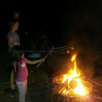 Photo taken at at tha fire pit by Angi R. on 11/6/2012