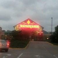 Photo taken at Diamond Jack's Casino and Resort by Angi R. on 10/26/2012