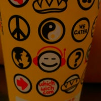 Photo taken at Which Wich? Superior Sandwiches by stefany c. on 2/19/2013