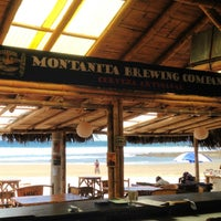 Photo taken at Montañita Brewing Company by Amber L. on 3/13/2014