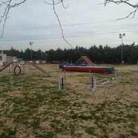Photo taken at Adiestramiento Canino Educan by Mónica G. on 2/17/2014