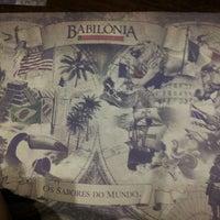 Foto tirada no(a) Babilônia Gastronomia por Thaíssa R. em 5/12/2013