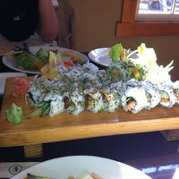 Photo taken at Joss Cafe & Sushi Bar by Ashley D. on 10/13/2012