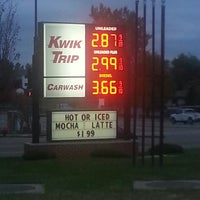 Photo taken at Kwik Trip #343 by Scott B. on 10/17/2014