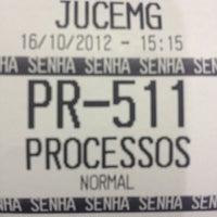 Photo taken at Junta Comercial do Estado de Minas Gerais - JUCEMG by Pedro E. on 10/16/2012