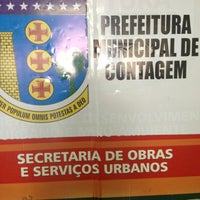 Photo taken at Prefeitura de Contagem by Pedro E. on 10/16/2012