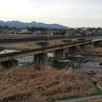 Photo taken at 安中鉄橋 by 1100GS on 3/26/2013