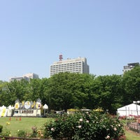 Photo taken at Hibiya Park by 1100GS on 5/22/2013