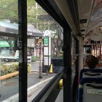 Photo taken at 都営バス 駒込駅南口 by 1100GS on 4/7/2013