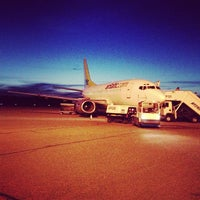 Photo taken at Turku Airport (TKU) by Minna V. on 5/16/2013