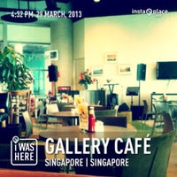 Photo taken at Gallery Café by Roy T. on 3/29/2013