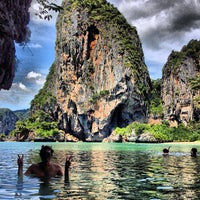 Photo taken at Railay Beach West by Toda on 11/7/2012