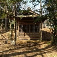 Photo taken at 天神社 by ken p. on 2/17/2013