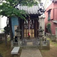 Photo taken at 亀戸石井神社 by ken p. on 4/20/2013
