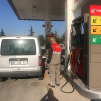 Photo taken at Şahin Petrol TOTAL by Murat T. on 10/12/2017