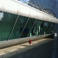 Photo taken at Makhinjauri Railway Station | მახინჯაურის რკინიგზის სადგური by Irma G. on 7/20/2013