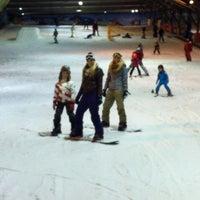 Photo taken at SnowWorld by Ed B. on 11/25/2012