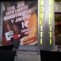 Photo taken at Cervecería Moretti by Ibi P. on 4/2/2013