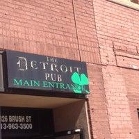 Photo taken at Detroit Pub Greektown by Jim K. on 5/10/2014