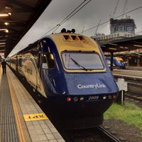 Photo taken at Central Station (Platforms 4 & 5) by Yvonne K. on 2/11/2013