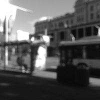 Photo taken at Eddy Ave Bus Stops by Yvonne K. on 10/7/2013