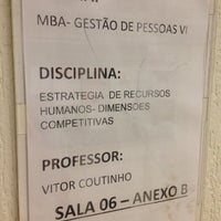 Photo taken at Faculdades INTA - Anexo B by Vitor d. on 6/20/2015
