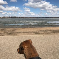 Photo taken at Lake Harriet South Beach by B F. on 4/28/2018