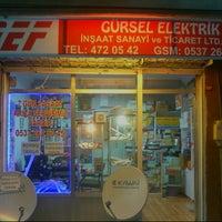 Photo taken at Gürsel Elektrik insaat san.tic.ltd.sti. by sami furkan ş. on 12/23/2012
