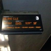 Photo taken at Stazione Chivasso by Tito S. on 10/30/2012