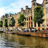 Photo taken at Amsterdam Canals by Charlie A. on 6/21/2013
