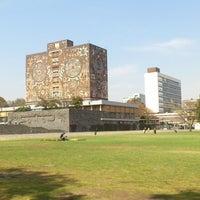 Photo taken at Universidad Nacional Autónoma de México by Alice on 1/17/2013