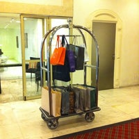 Photo taken at Plaza São Rafael Hotel by Thais F. on 3/17/2014