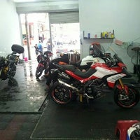 Photo taken at Superb Bike Care by Adza N. on 8/24/2014