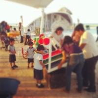 Photo taken at Centro Recreativo Playa Norte by Liizeeth A. on 4/27/2013