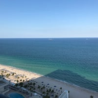 Photo taken at Ft. Lauderdale Beach @ Beach Place by dana 🍓 . on 4/25/2018
